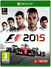 Pal version Microsoft Xbox One F1 2015