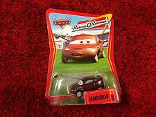 """Disney"" Pixar Cars The World of Cars Andrea #89 Race O Rama - New"