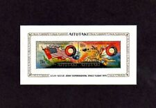 AITUTAKI - 1975 - SPACE - APOLLO / SOYUZ - ICARUS - US & USSR - MNH S/SHEET!