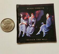 Miniature record album Barbie Gi Joe 1/6  Playscale Black Sabbath Heaven Hell 22