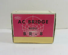 VINTAGE - BELCO AC BRIDGE - MODEL BR-8 - WITH ORIGINAL BOX AND MANUAL - MINT