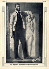 Max Wislicenus ( Prof.Theodor von Gosen ) Historische Aufnahme von 1910