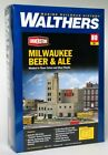 Walthers 933-3024 HO Scale Milwaukee Beer and Ale Brewery Kit - Assembly needed