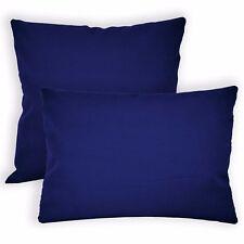 Aw17a Royal Blue High Quality 12oz Cotton Cushion Cover/Pillow Case Custom Size