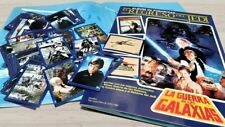 The Return of the Jedi Complete Trading Cards Album Cromy Darth Vader Argentina
