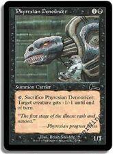 4 FOIL Phyrexian Denouncer - Black Urza's Legacy Mtg Magic Common 4x x4