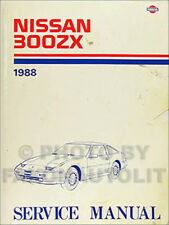 1988 Nissan 300ZX Shop Manual Original Repair Service Book 300 ZX 88 OEM