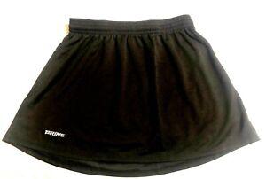BRINE REIGN ON Lacrosse Kilt Style F332W Womens Size M - Black