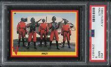 1984 Fleer V The Series PSA 9 #50 Halt Enemy Visitors 80s TV Show Alien Mint