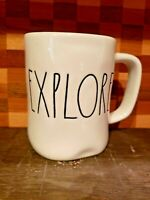 Rae Dunn Explore Ceramic Mug Artisan Collection By Magenta Excellent Condition