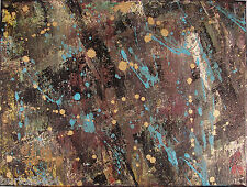 Modernist Abstract Wall MODERN Art Expressionist Painting GLOBAL CHANGER FOLTZ