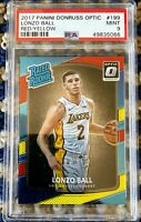 2017 Lonzo Ball Optic Rated Rookie #199 PSA 9 *066