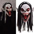 Halloween Fangs Vampire Monster Latex Mask Masquerade Party Horrifying Supplies