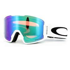 Oakley Skibrille Line Miner OO7070-14 Matt White Prizm Jade Iridium