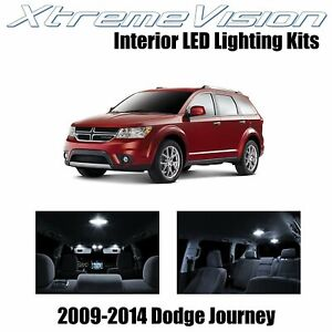 XtremeVision LED for Dodge Journey 2009-2014 (7 Pieces) Pure White Premium Inter