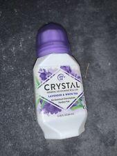 Crystal Mineral Deodorant Roll-On, Lavender & White Tea 2.25 oz