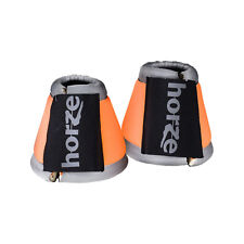 Horze Reflective Bell Boots Reflective Tape Able to be Seen from Long Distances