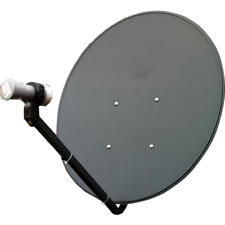 Starter kits for MyStar or Foxtel IQ , 75cm dish 2X10M Cable LNB Tin Roof Mount