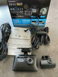 ZDR-015 COMTEC direct wire cord ZR-01 Set front and rear drive recorder Used GC