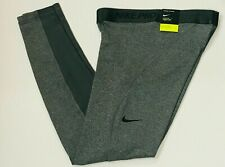 Nike Womens Pro Warm Dri-fit Training Tights Full Length Cj5718 071 Medium