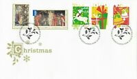 AFD1090) Australia 2012 Christmas FDC set. Price: $5.75