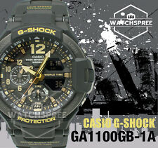 Casio G-Shock Master of G Series Gravitymaster Watch GA1100GB-1A AU FAST & FREE