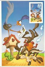 3391c Wile E. Coyote & Road Runner Adhesive Mnh Booklet pane of 1, 33 cent 2000