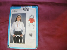 Teens Vest Pants Jacket Size 9-14 UC McCalls Sewing Pattern 2238 Girls