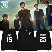 Kpop Day6 Zipper Coat 1st Album SUNRISE JAE Sung Jin Won Pil Young K Jacket