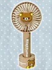 Rilakkuma Fan Portable Fan Handy Fan USB Fan With Stand - Brown Bear *Rare Item*