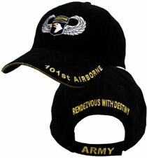 New U.S.Military Army 101st Airborne Hat Embroidered Jump Wings Ball Cap