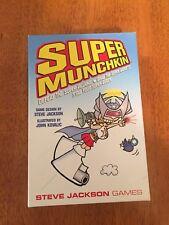 Super Munchkin Steve Jackson Games Defeat The Super Villians