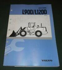 VOLVO L90D L120D WHEEL LOADER SERVICE SHOP REPAIR MANUAL BOOK