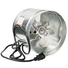 "10"" Inch Booster Fan Inline Blower Exhaust Ducting Cooling Vent HPS Hydroponic"