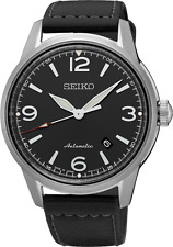 Seiko SRPB07J Watch Presage Auto Leather Made in Japan 42mm Case 10 ATM RRP$599