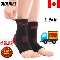 Foot Ankle Socks Anti-Fatigue Compression Sleeve Brace Sock Support For Sports