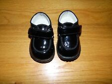 L'AMOUR Baby shoes Sz 3 Black Patent Leather Loafers NEW w/o box