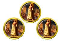 Martyrdom de St. Joan de Arc Marqueurs de Balles de Golf