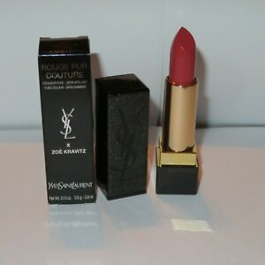YVES ST LAURENT Rouge Pur Couture x ZOE KRAVITZ #125 HONEY'S NUDE
