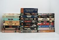 Lot of 26 Clint Eastwood VHS Tapes Good Condition Cowboy Western Action Movies