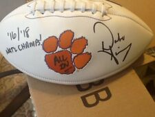 Dabo Swinney Clemson Tiger Football with ALL IN Signed