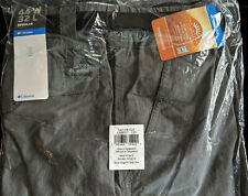 NEW COLUMBIA PFG SILVER RIDGE Men's Belted Cargo Pants 44 X 32 Steel Gray NWT
