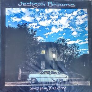 """JACKSON BROWNE LATE FOR THE SKY - VINYL LP """" NEW, SEALED """""""