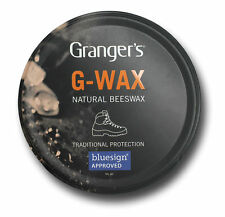 Grangers G Wax 80g Footwear Leather Shoe/Boot Proofer Conditioner Beeswax Polish