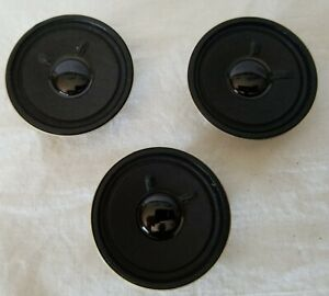 "LOT of (3) SEA 2.25"" DIAMETER 8 OHM 2 WATT SPEAKERS for G and O SCALE USAGE"
