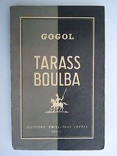 "Nicolas GOGOL "" Tarass Boulba "" aux Editions Emile-Paul, 1935"