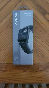 Nomad - Stainless Steel Watch Band for Apple Watch® 42/44mm Series 1-4 - Black
