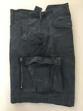 Polo Ralph Lauren 9 3/4 Classic Fit Cargo Shorts Rugby Navy Size 36 NWT Men's