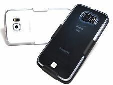 (New Other)Clear Case Belt Clip Holster for Samsung S6