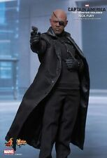 Hot Toys Marvel MMS315 Captain America The Winter Soldier Nick Fury 1/6 in Stock